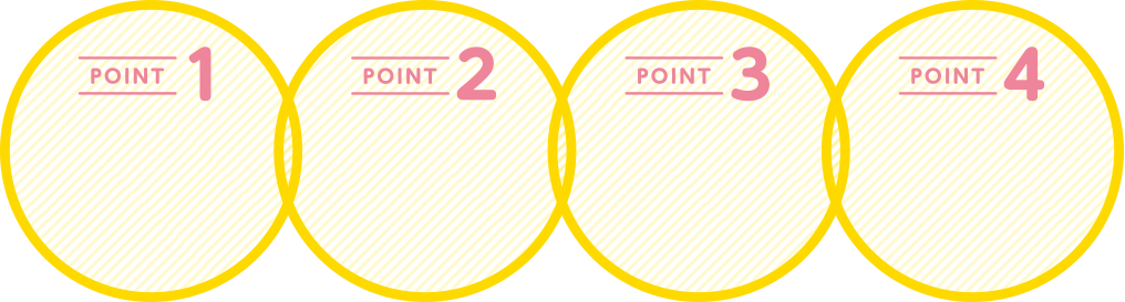 4つのPOINT